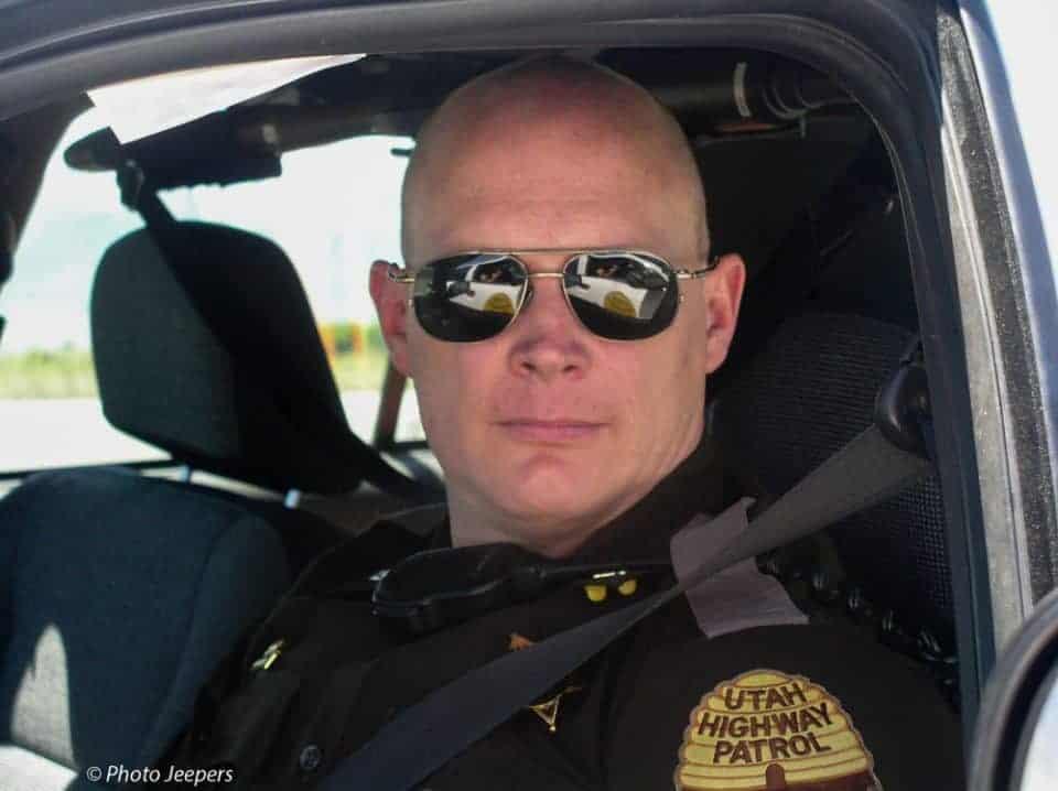 Utah Highway Patrol Trooper