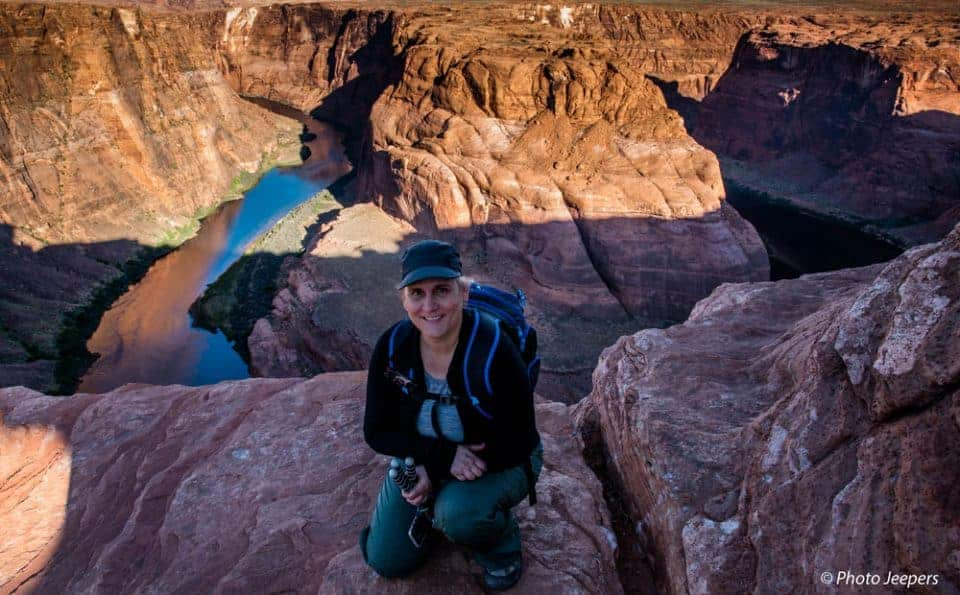 Jamie from Photo Jeepers at Horseshoe Bend