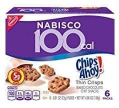 100 calorie snack pack