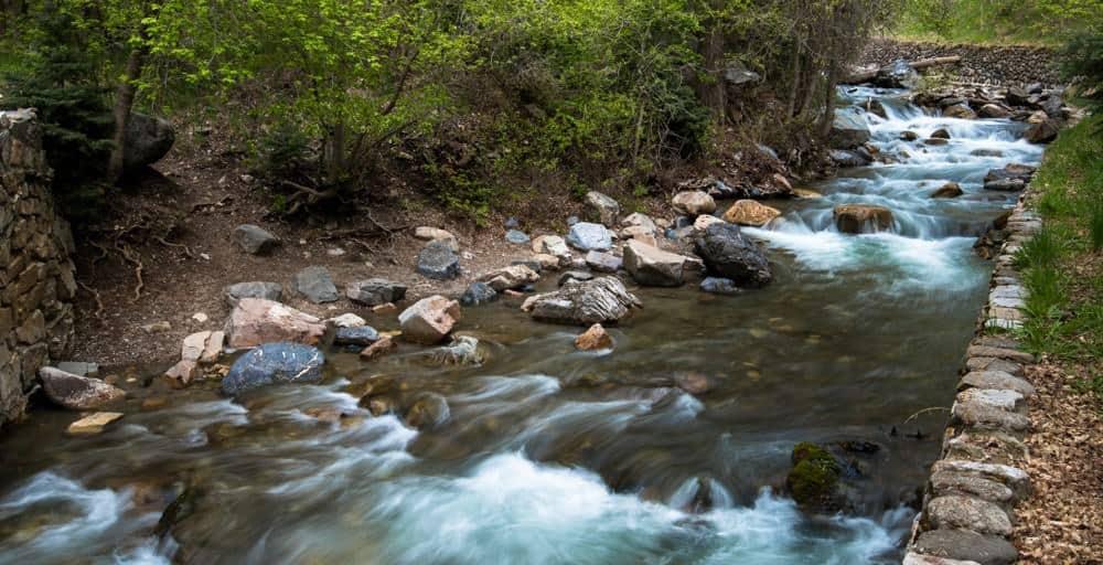 River in American Fork Canyon, Utah
