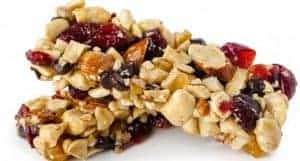 nut and fruit bars
