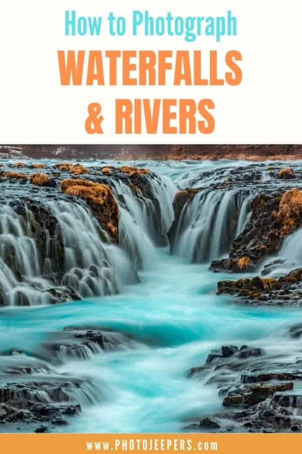 Do you struggle taking waterfall or river photos? Learn howto photograph waterfalls and rivers with these simple steps: Composition, Camera stability, Camera settings, Camera equipment, Practice. #photography #waterfalls #photographytips #landscapephotography #photojeepers