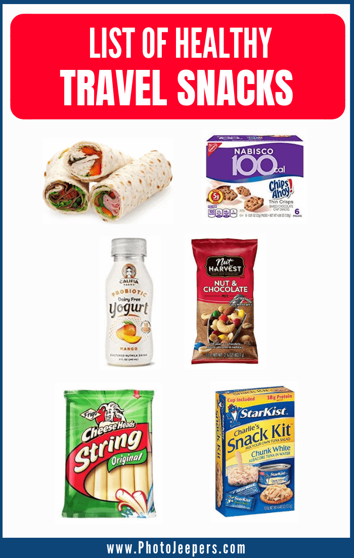 list of healthy travel snacks