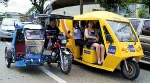 local transportation in the Phillippines