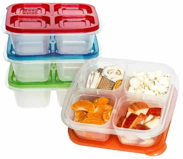 snack box containers
