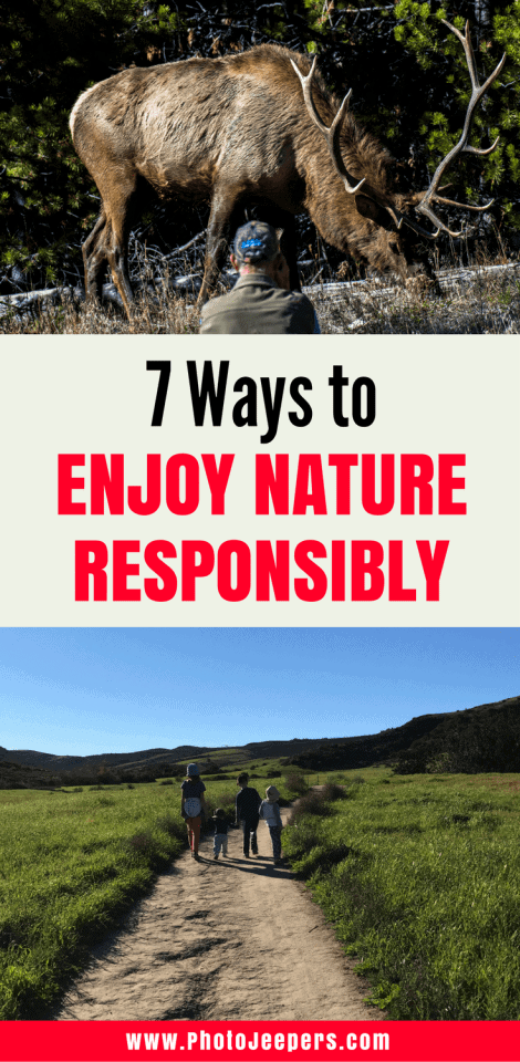 get out and enjoy nature
