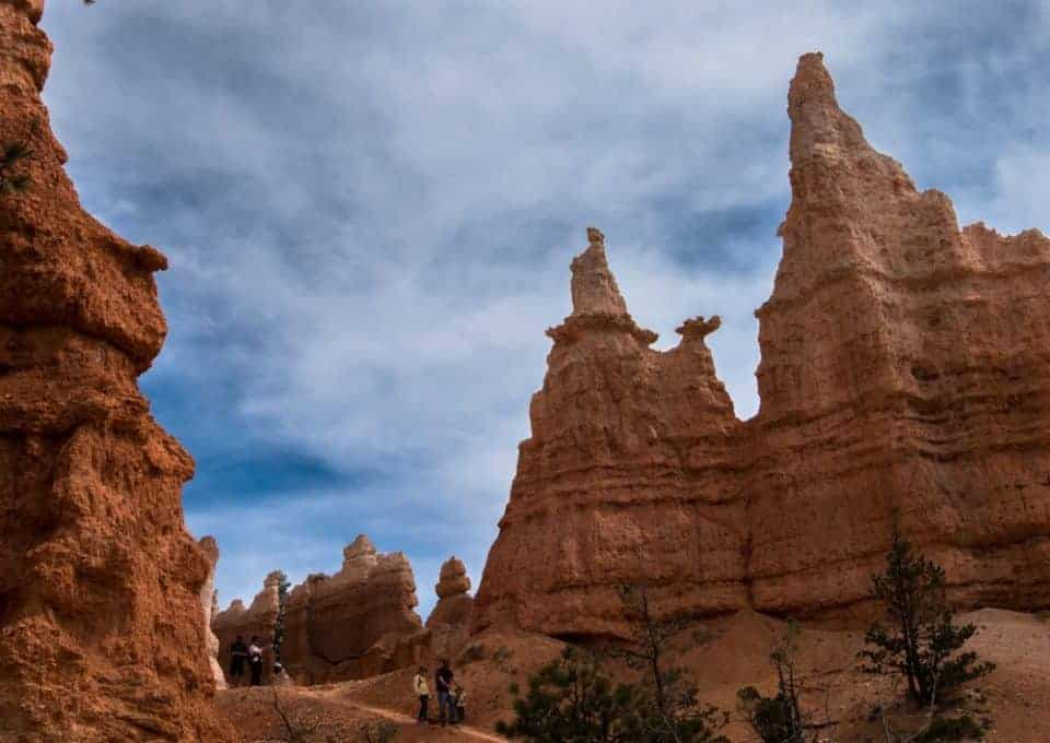 Queen Anne rock formation in Bryce Canyon National Park, Utah, USA