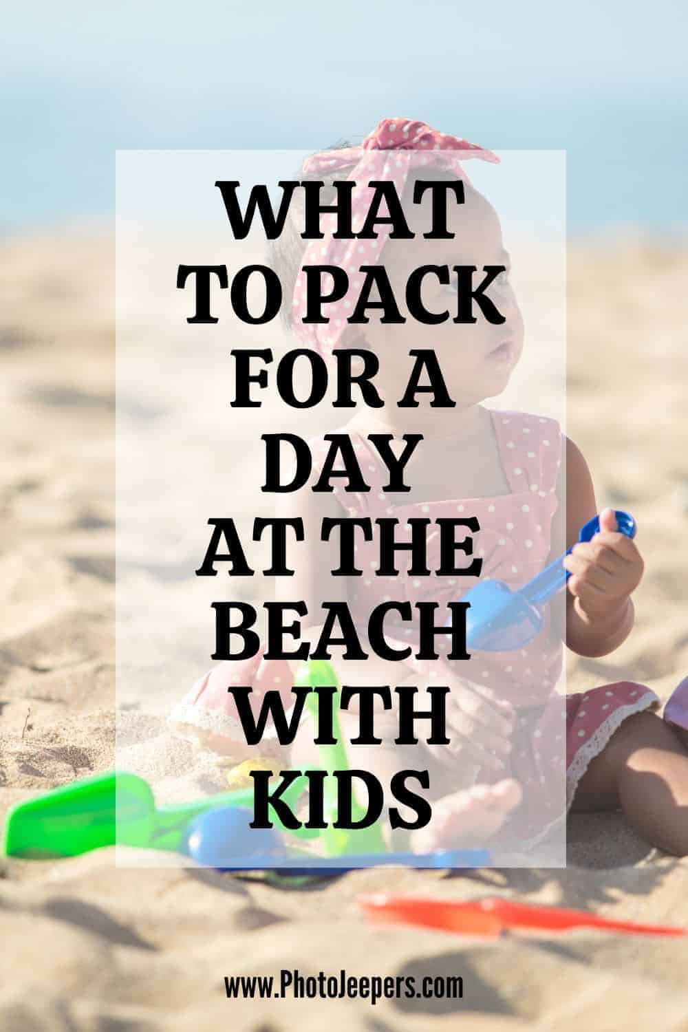 It's so fun taking babies, toddlers and bigger kids to the beach. There's something so special about a family day out with the sea and sand. However, if you're not prepared, taking babies to the beach can quickly turn into a sand covered nightmare! #beach #beachvacation #familytravel #photojeepers