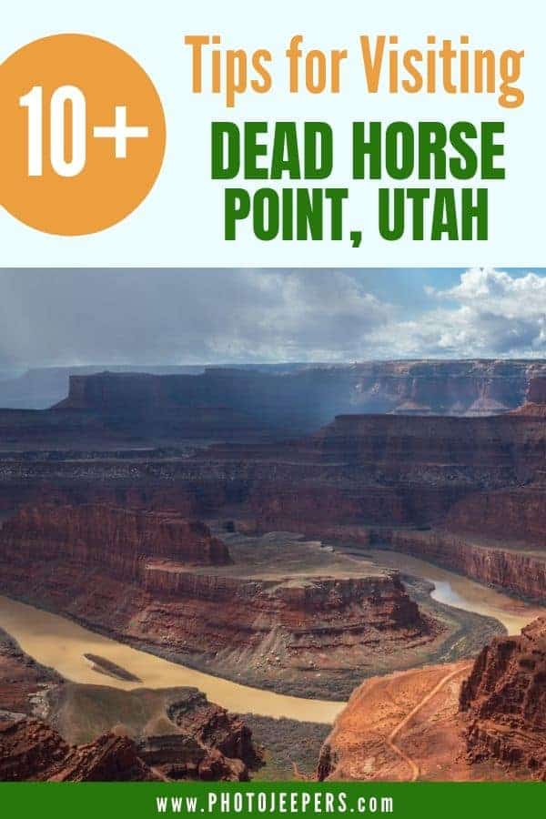 Tips for visiting Dead Horse Point State Park, Utah | Things to do at Dead Horse Point | Where to stay in Dead Horse Point | How to get to Dead Horse Point and more!
