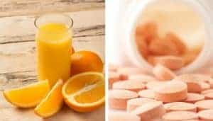 oranges, juice and vitamin c
