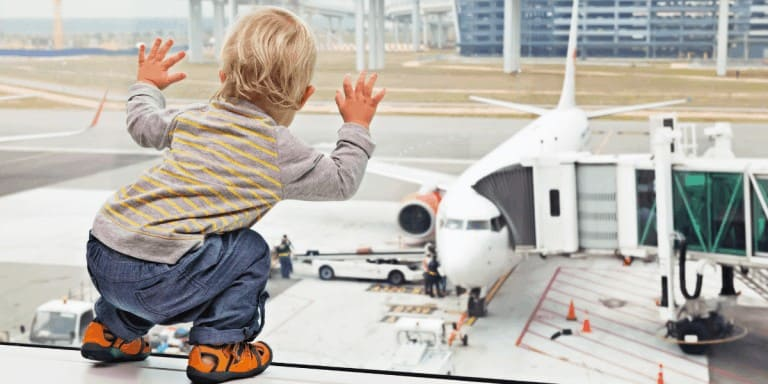 Flying with a Baby and Toddlers: Tips for Carryon and Activities