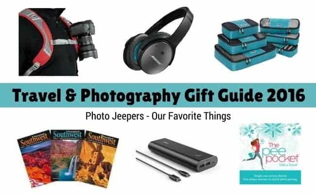 Travel and Photography Gift Guide 2016 Photo Jeepers