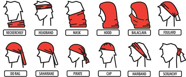 Travel Gift Idea: Buff Headwear styles