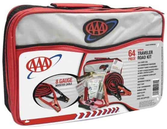 Road Trip Gift Idea: car emergency kit for road trips