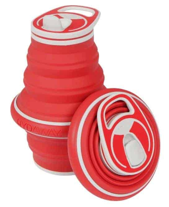 Travel Gift Idea: collapsible water bottle