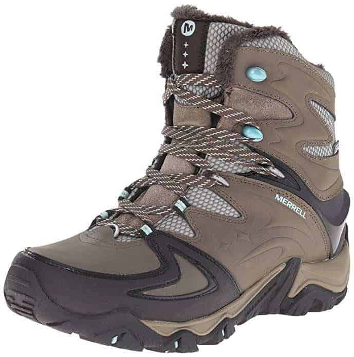 Winter Clothing Guide for Outdoor Travel - Merrell Moab insulated boots