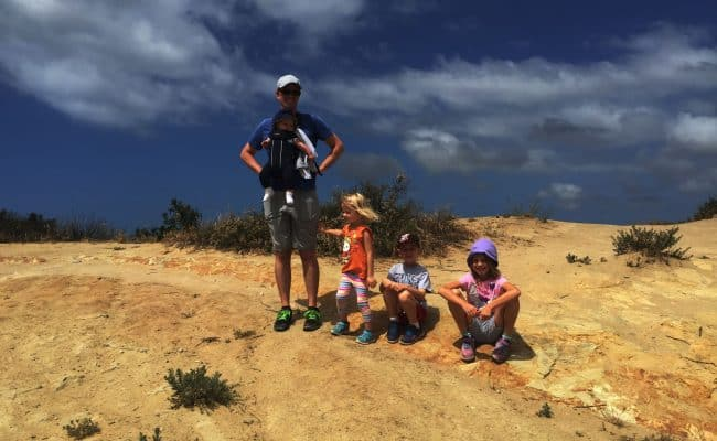Going on a hike doesn't mean you have to leave the kids behind! In fact, we love taking our kids along on our adventures. Check out our 5 favorite kid friendly hikes in Orange County, California. You'll want to save this to your hiking or travel board!