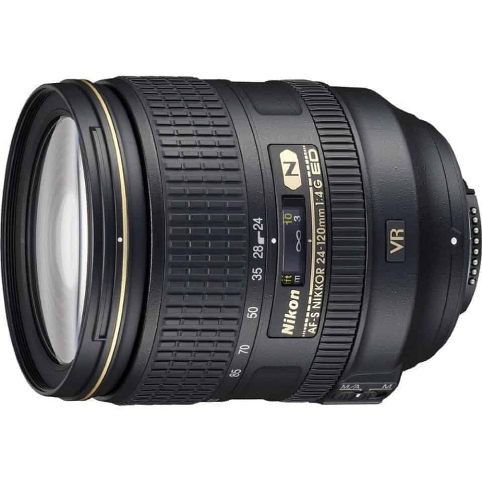 Camera gear for travel photography - Nikon 24-120 mm lens