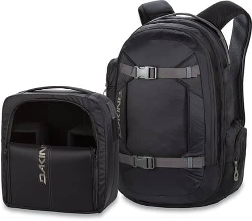 Camera gear for travel photography - Dakine mission photo backpack