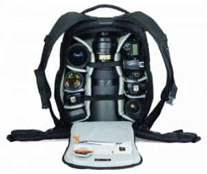 Camera gear for travel photography - Lowepro Flipside 500 AW backpack