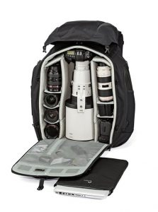 Camera gear for travel photography - Lowepro Pro Trekker 650 AW backpack