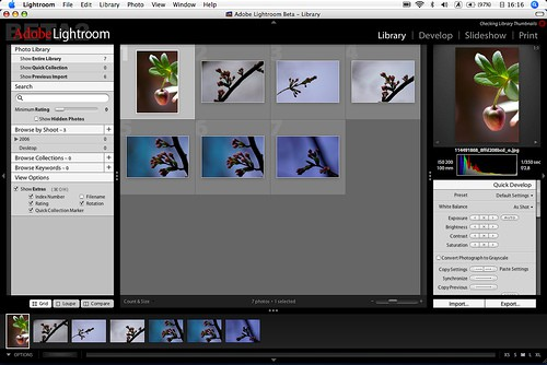 Camera Gear for photography - Adobe Lightroom
