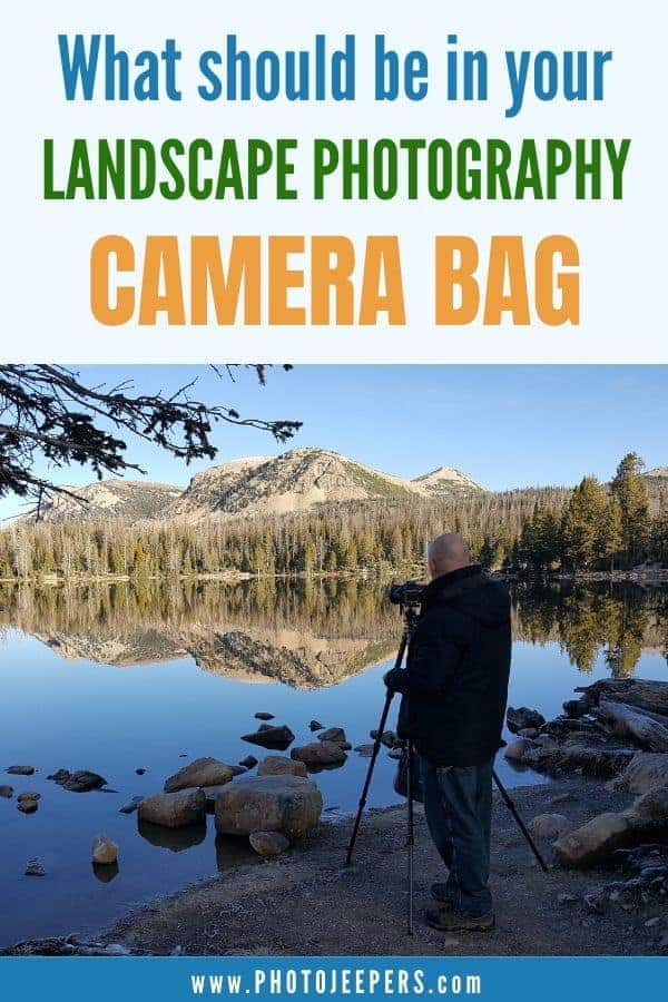 What should be in your landscape photography camera bag?