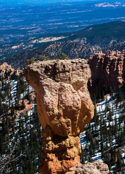 Bryce Canyon National Park Agua Canyon - view and photo spotnt - view and photo spot
