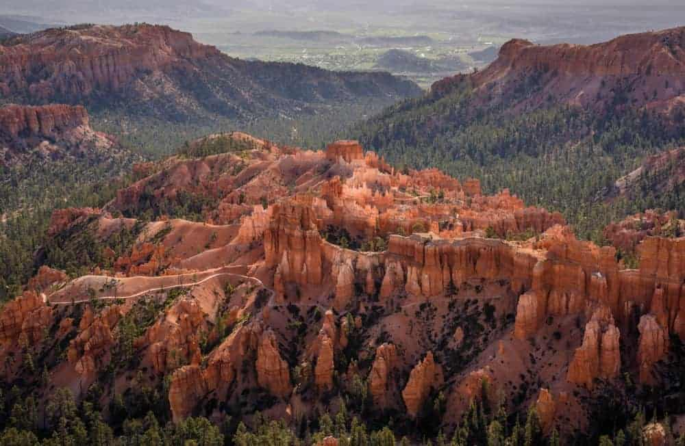 Bryce Canyon National Park Inspiration Point - view and photo spot