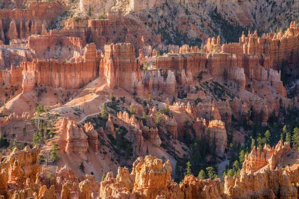 Bryce Canyon National Park hoodoos - view and photo spot