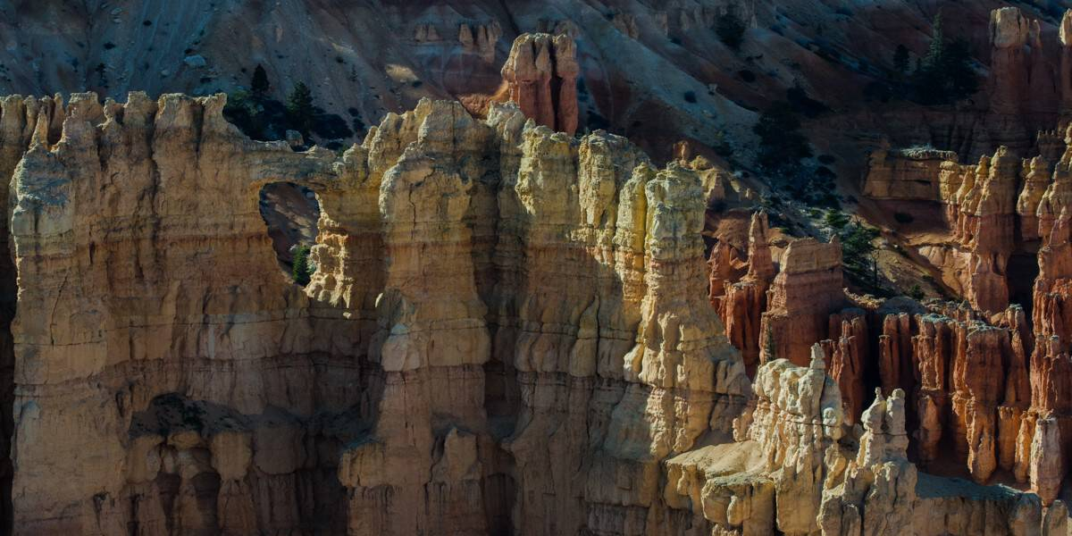 Fins, hoodoos and windows at Bryce Canyon National Park.