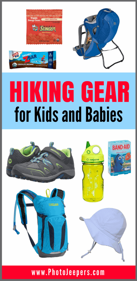 Hiking Gear for Kids and Babies