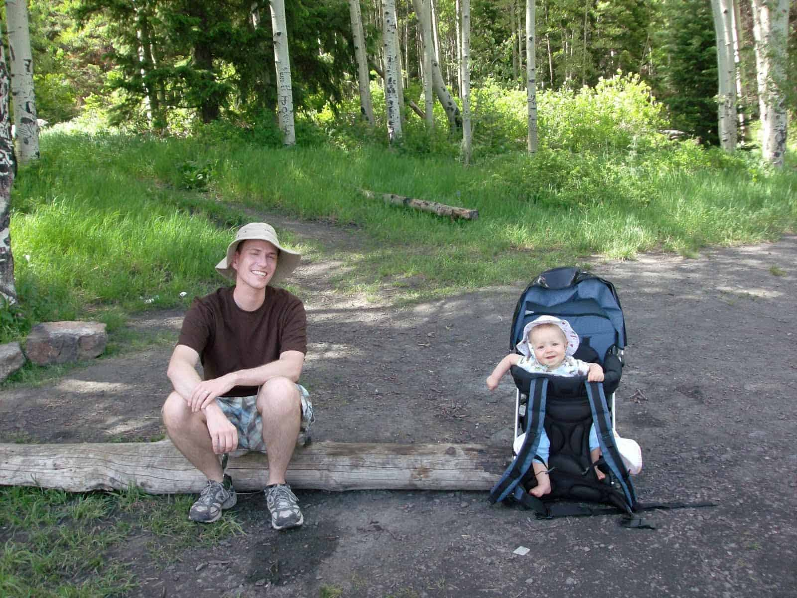 Child carriers for hiking are worth the investment!