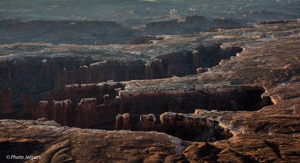 Canyonlands National Park, Utah - Island in the Sky white rimmed canyon