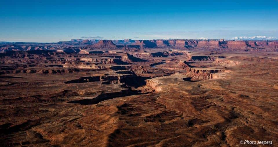 Canyonlands National Park, Utah - Island in the Sky Green River Overlook