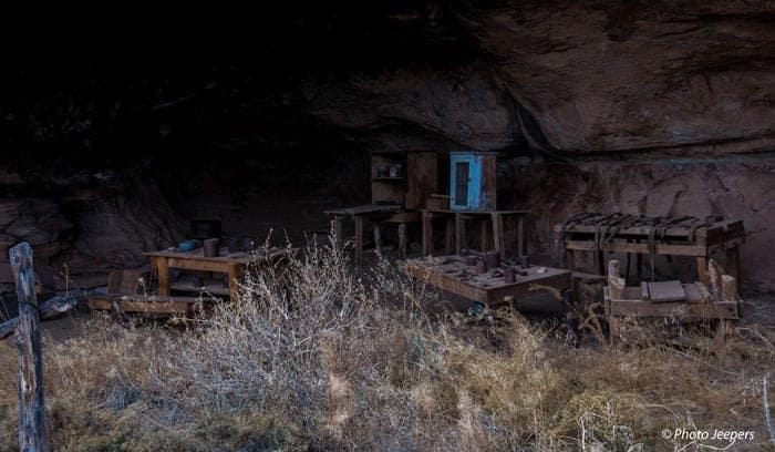Cowboy Camp at Canyonlands National Park, Needles District, Utah