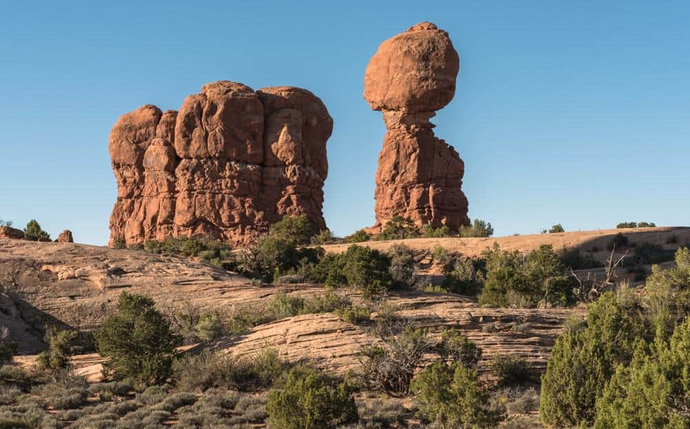 Balanced Rock at Arches National Park, Utah HDR Example