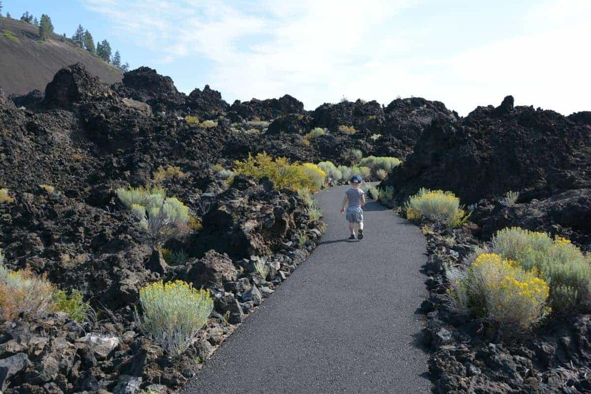Explore Lava Lands in Bend, Oregon.