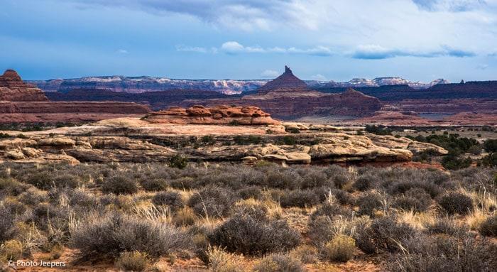 Six shooter peak Canyonlands National Park, Needles District, Utah