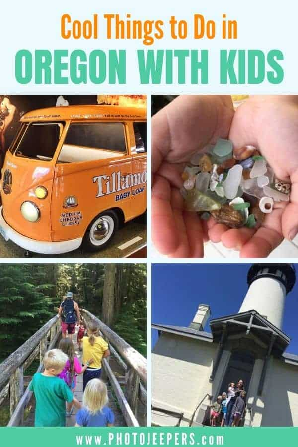 Cool things to do in Oregon with kids. Enjoy Oregon beaches, Oregon museums, Oregon parks, Oregon lighthouses and more! #oregon #portland #familytravel #familyvacation #photojeepers