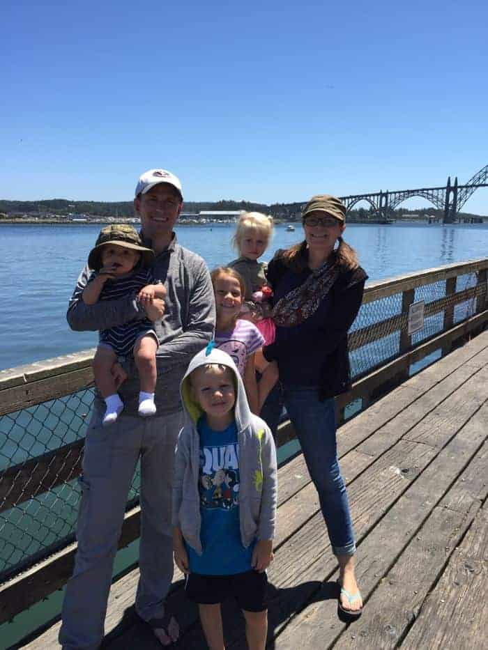 Enjoy the views of Yaquina Bay Bridge while in Newport, Oregon