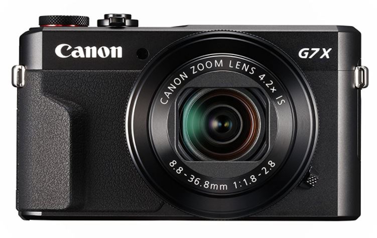 Canon Powershot G7X Travel Blogging Camera