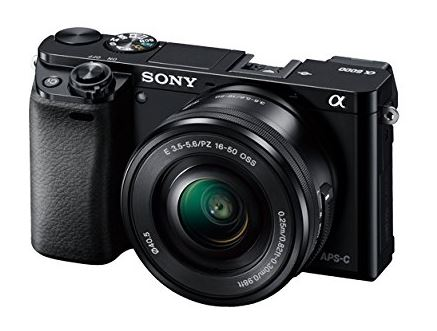 Sony Alpha A6000 Mirrorless Travel Blogging Camera