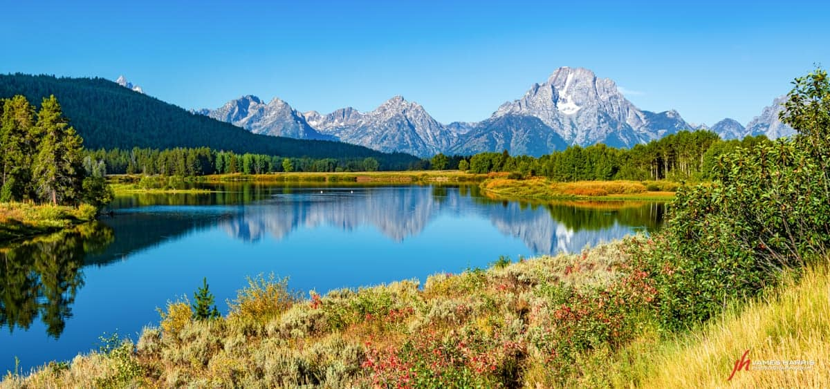Oxbow Bend is an iconic photo spot at Grand Teton.