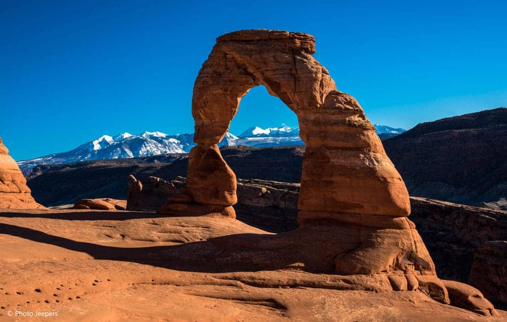 Delicate Arch at Arches National Park in Utah, USA