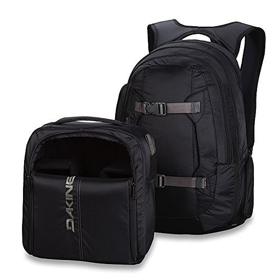 Travel Photography Gift Idea: Camera Backpack Dakine Mission Photo Backpack for camera gear
