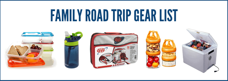 family road trip gear list