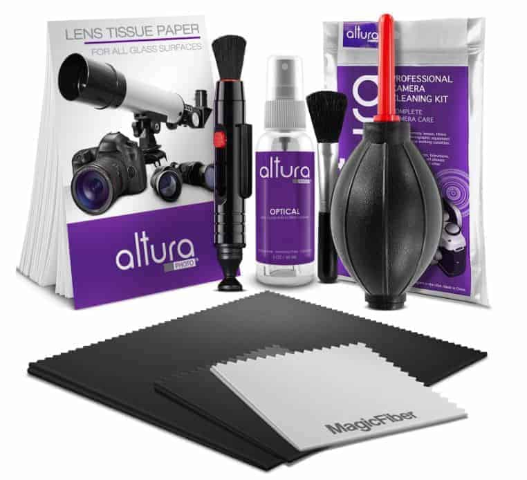 Travel Photography Gift Idea: Camera lens cleaning kit