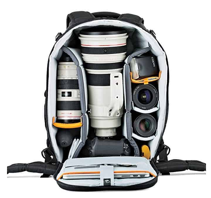 Travel Photography Gift Idea: Camera Backpack Lowepro Flipside 500 Camera Backpack