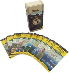 National Geographic National Parks Map Collection